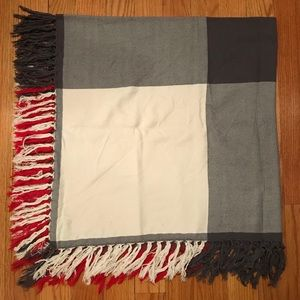 Madewell • Oversized Grid Blanket Scarf
